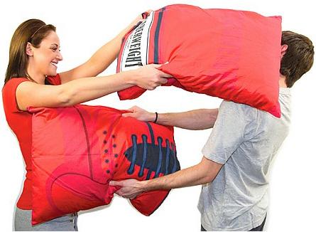 funda almohada guantes de boxeo