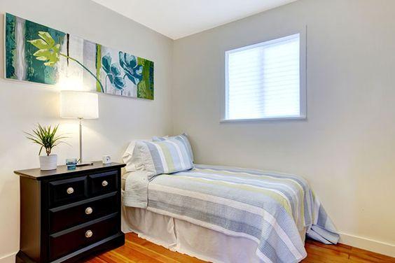 101 ideas de decoración para pequeños dormitorios, cuartos y ...