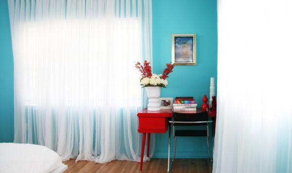 Como elegir el color adecuado para pintar una habitaci n - Como pintar una pared ya pintada ...