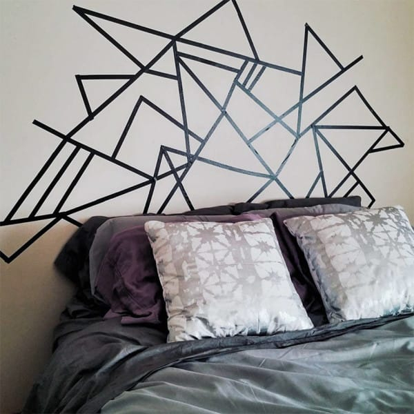 Idea para hacer una cabecera de cama bonita y barata