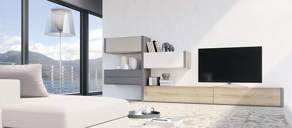 Muebles bajos para hacer que el techo parezca más alto