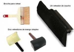 herramienta vetear