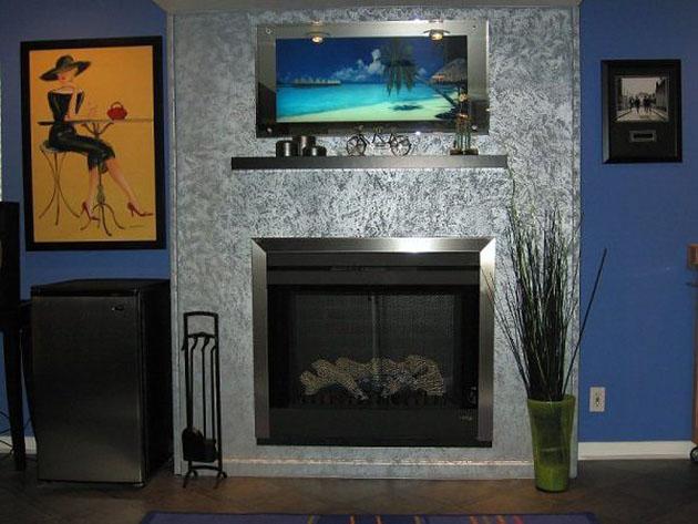 Ideas para pintar las paredes: Técnica de pintura esponja o esponjado