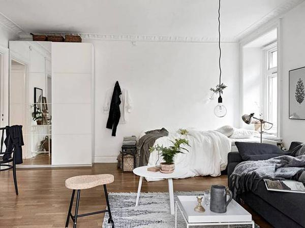 10 ejemplos sobre c mo decorar y amueblar un apartamento - Ideas decoracion salon pequeno ...