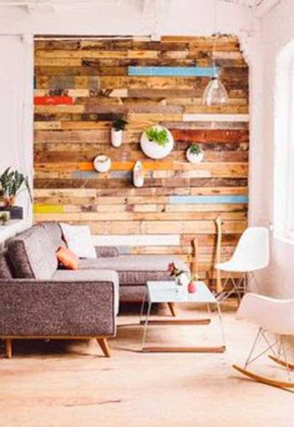 15 ideas para decorar una pared de forma ecológica. | Mil Ideas de ...