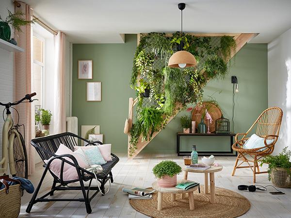 Idea para decorar un rincón muerto en casa