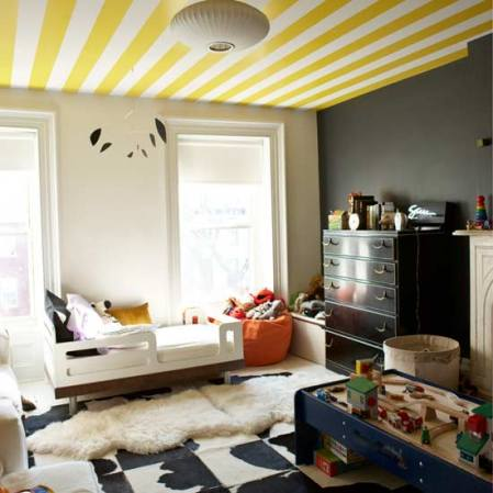 25 fotos e ideas para pintar y decorar los techos de casa. | Mil ...