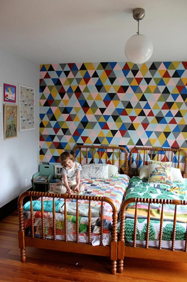 ideas-pintar-pared-mosaico-triangulos