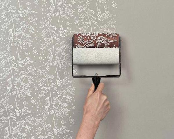 ideas-pintar-pared-rodillo-decorativo