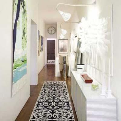 30 fotos ideas y consejos para decorar un pasillo mil - Muebles para pasillos estrechos ...