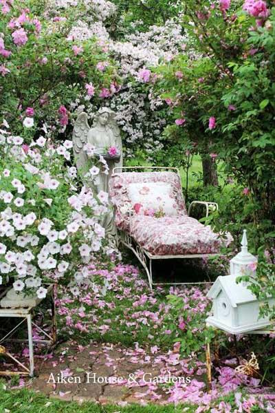 Ideas para decorar un hermoso jard n vintage mil ideas for Jardines vintage