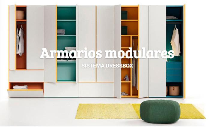 Armario modular Dressbox de Lagrama