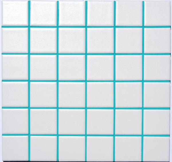 Lechada turquesa para colorear juntas de azulejos