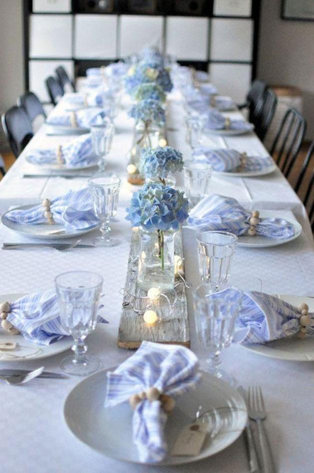 Mesa cena Noche Vieja y Año Nuevo