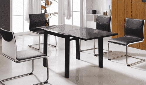 mesas de comedor modernas y extensibles mil ideas de