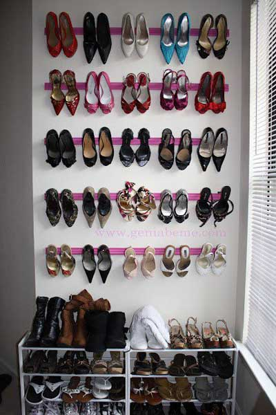 ideas para guardar y organizar los zapatos en casa mil ideas de