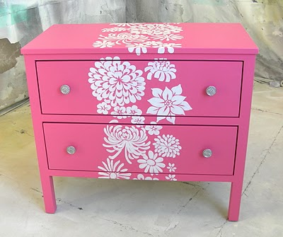 Como Decorar Un Mueble Con Platillas O Stencil