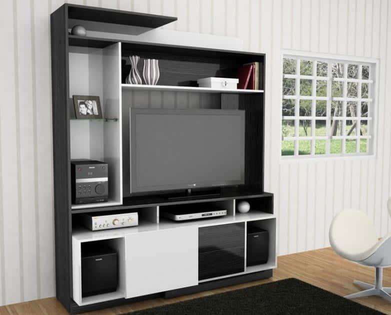 Un mueble para el televisor moderno practico y barato - Muebles para television ikea ...