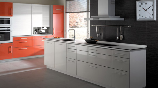 Muebles de cocina, lacados, laminados, de madera o ...