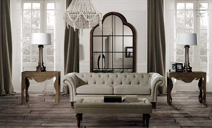 Decoraci n de salones con muebles cl sicos mil ideas de for Decorar mueble salon moderno