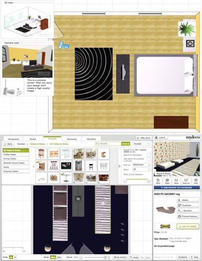 Programas diseno muebles idea creativa della casa e dell for Programas de decoracion online