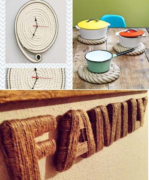 15 ideas diy para crear objetos para la decoraci n del for Tips para decorar el hogar