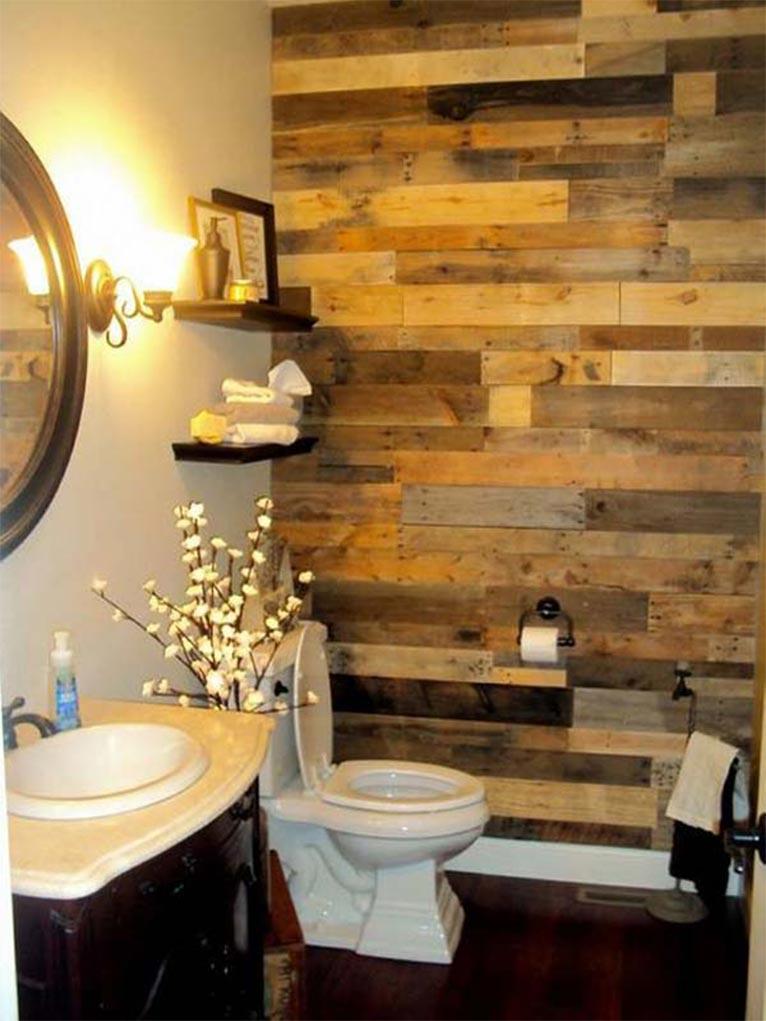ideas para utilizar palts de madera en el cuarto de bao mil ideas de decoracin with ideas para palets