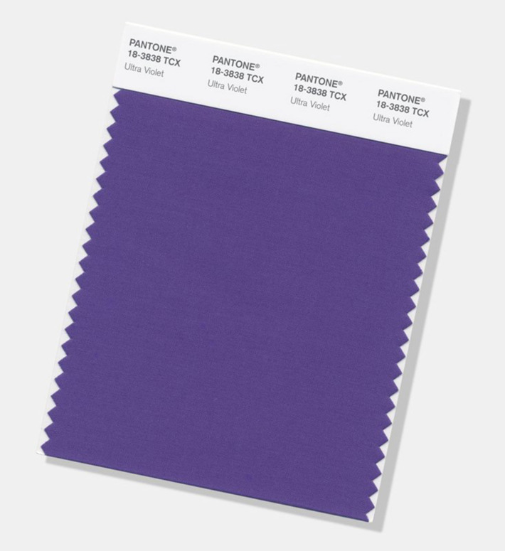 Color Pantone 2018 - Ultra Violet