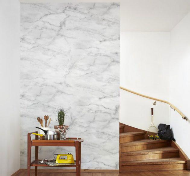 Papel pintado imitacion marmol