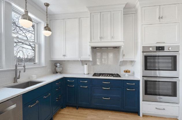 pintar muebles de cocina antes y despu s fotos y