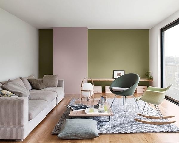 45 Ideas Para Pintar El Salon En Dos Colores Mil Ideas De Decoracion