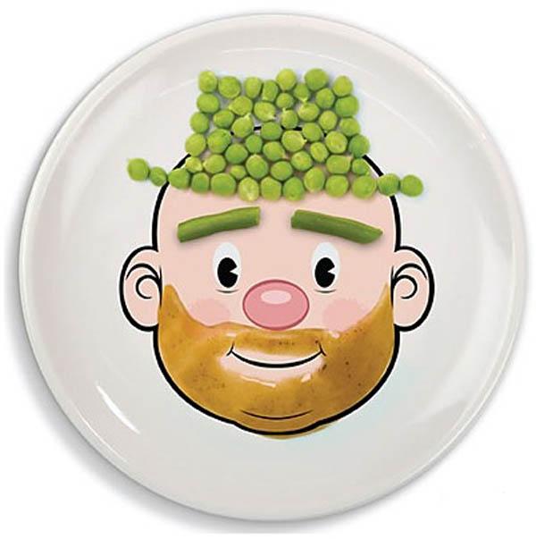 Un plato para que los niños puedan comer y divertirse. | Mil Ideas ...