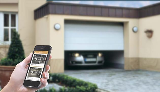 Dispositivo y aplicación Parkingdoor para abrir la puerta del garaje con el móvil