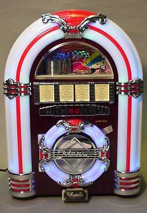 radio retro jukebox o pianola
