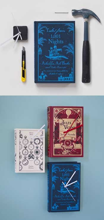 reloj-pared-diy-libros-reciclados