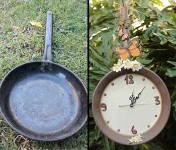 reloj-pared-diy-sarten-reciclada