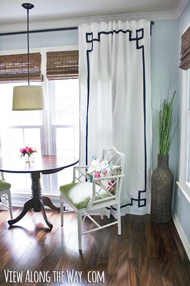 Ideas para decorar las cortinas