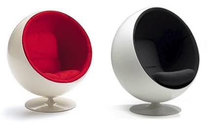 Ball Chair Un Sill N Moderno Con Estilo Retro Mil Ideas