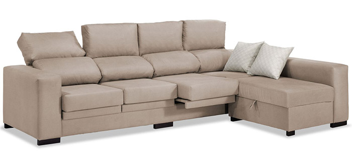 Large sofa with 4 seats