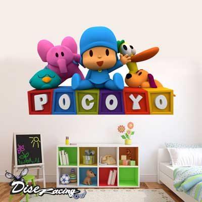 vinilo-decorativo-habitacion-infantil-personajes-pocoyo