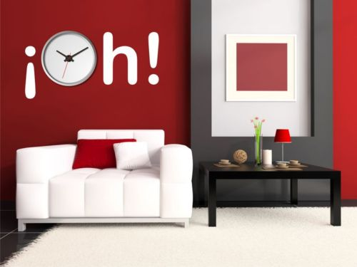 Vinilos para decorar relojes de pared mil ideas de - Decorar cocina con vinilos ...